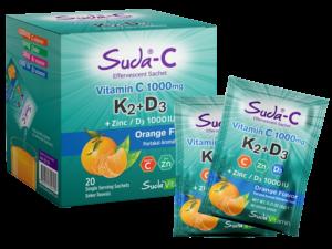 Suda-C Vitamin C K2+D3